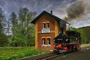 Museumspoorweg Erzgebirge Preßnitztalbahn van Johnny Flash