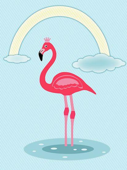 Flamingo roze