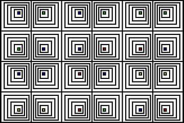 Genesteld | Offset | 06x04x2 | N=06 | V41 | RGBY van Gerhard Haberern