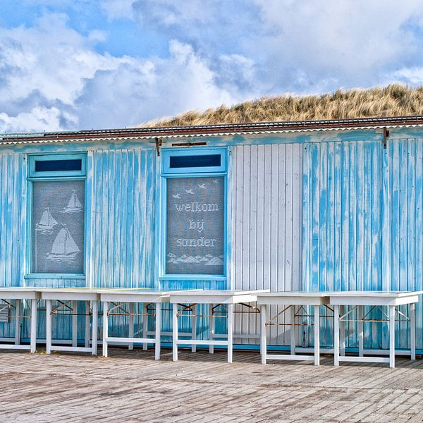 Strandtent van Michel Groen