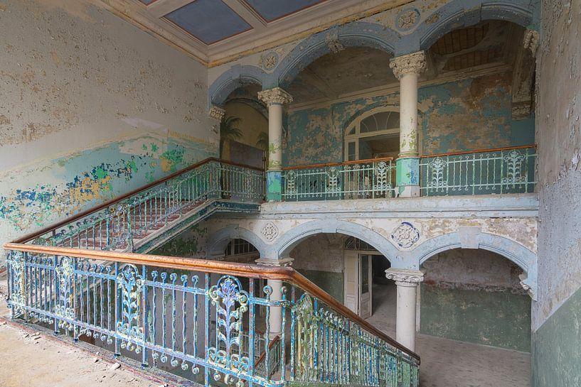 Stairs of Beelitz van Truus Nijland