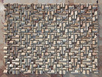 Relief H2 Marmor von Frans Blok