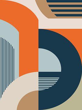 Abstrakte Komposition 941 von Angel Estevez