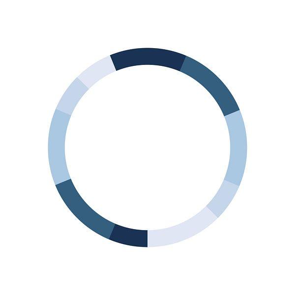 Schéma de couleurs monochrome sur MDRN HOME