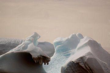 Ijsbergen Antarctica van Maurice Dawson