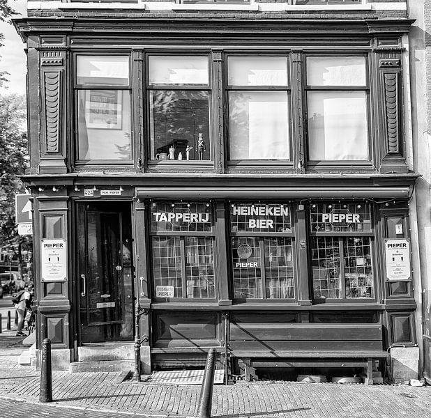 Café Pieper Amsterdam. van Don Fonzarelli