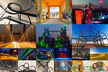 Collage industriële cultuur 2018-01 van Franz Walter