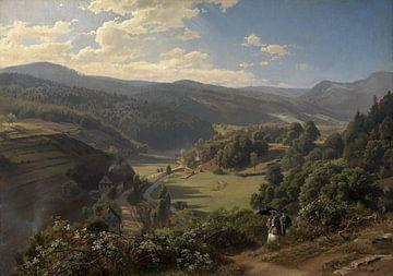 Johann Wilhelm Schirmer~Geroldsauer Tal bei Baden-Baden