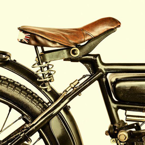 De Engelse motorfiets uit 1924 van Martin Bergsma