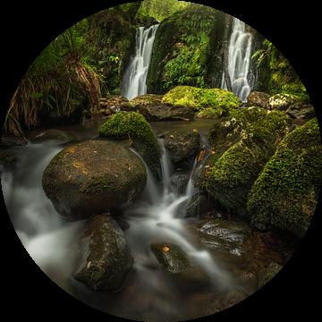 Mystieke waterval van Markus Stauffer