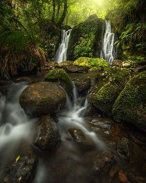 Mystischer Wasserfall von Markus Stauffer