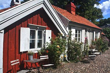 La Suède idyllique sur Susan van Diesen