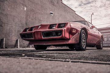 Pontiac, Roter rostiger von Atelier Liesjes