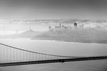 San Francisco hinter der Brücke
