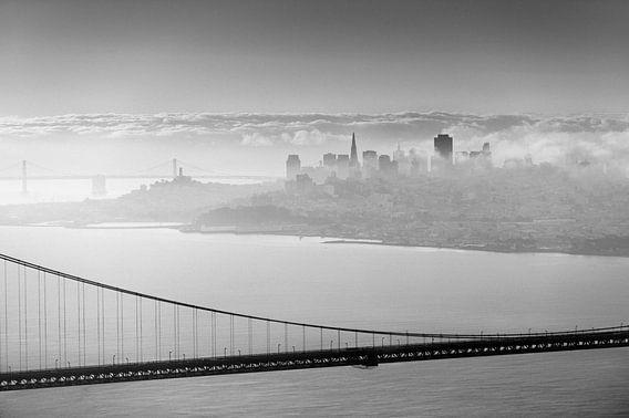San Francisco derrière le pont