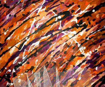 herfstkleuren van Marion Tenbergen