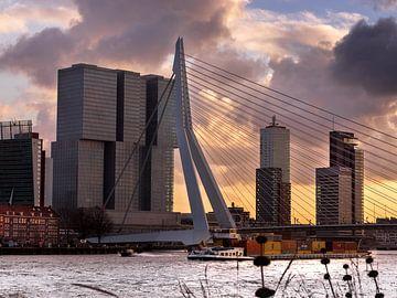 Die Erasmus-Brücke von Erik Groen