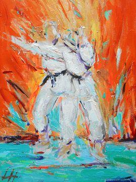 Karate - Kumite ni von Lucia Hoogervorst