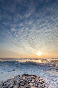 IJskoud IJsselmeer von Ron Buist