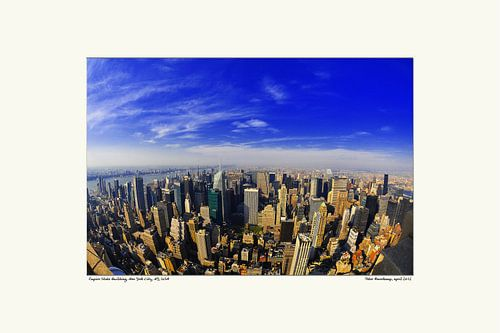 overzicht New York City van