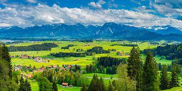 Ostallgäu en Ammergauer Alpen van Walter G. Allgöwer