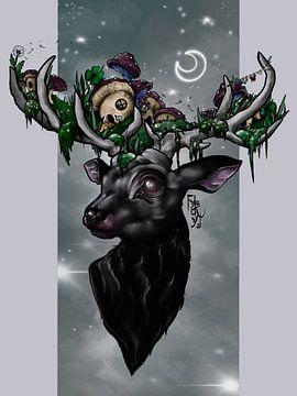 Betoverd bos van Raindrop Tattoo