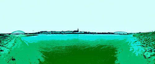 Nijmegen in groen