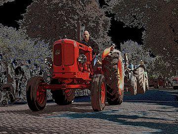 oldtimer tractor van PictureWork - Digital artist