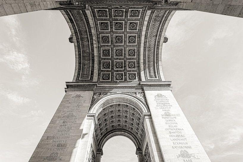 Parijs Arc de Triomphe in perspectief van Jean-Paul Wagemakers