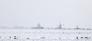 Winter in Holland3 van Henk Leijen