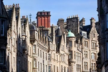 Stadsgezicht Edinburgh van Peter de Kievith Fotografie