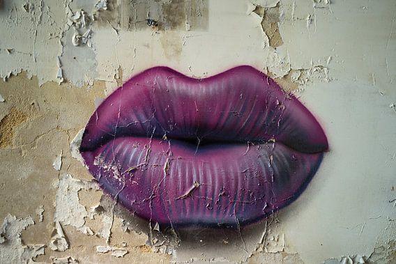 Lips are sealed van Joke Absen