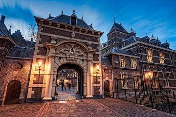 porte d'entrée du Binnenhof à La Haye sur gaps photography