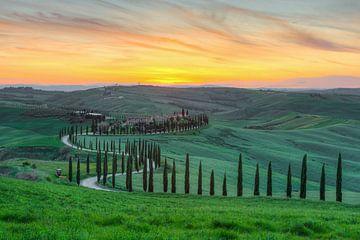 Crete Senesi Tuscany van Michael Valjak