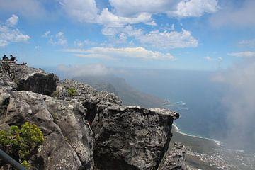 Uitzicht over zee van Quinta Dijk