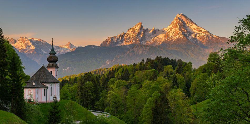 Maria Gern, Berchtesgaden, Germany van Henk Meijer Photography