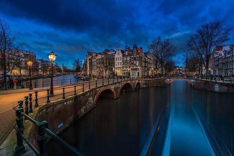 Amsterdam in motion ... van Marcos Dijkos