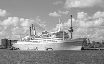 Het SS Rotterdam in Rotterdam van