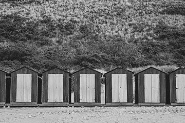 Strandhäuschen am Meer von Sanne van Pinxten