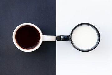 Kaffee mit Milch von Juriaan Wossink