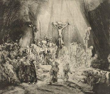 Die drei Kreuze, Rembrandt van Rijn