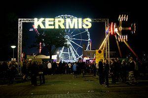 Drenthe / Assen / Ingang van de TT Kermis op het Veemarktterrein / 2011