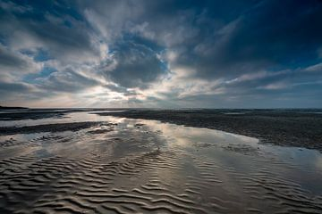 Ochtend aan de Waddenzee van Michel Knikker