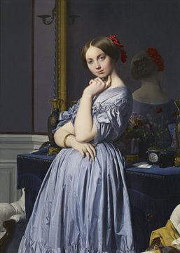 Jean-Auguste-Dominique Ingres - Comtesse d'Haussonville sur