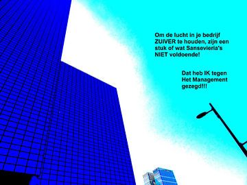 Small Talk: De Lucht Zuiver Houden! van MoArt (Maurice Heuts)