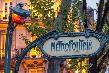 Metropolitain, Paris von Christian Müringer