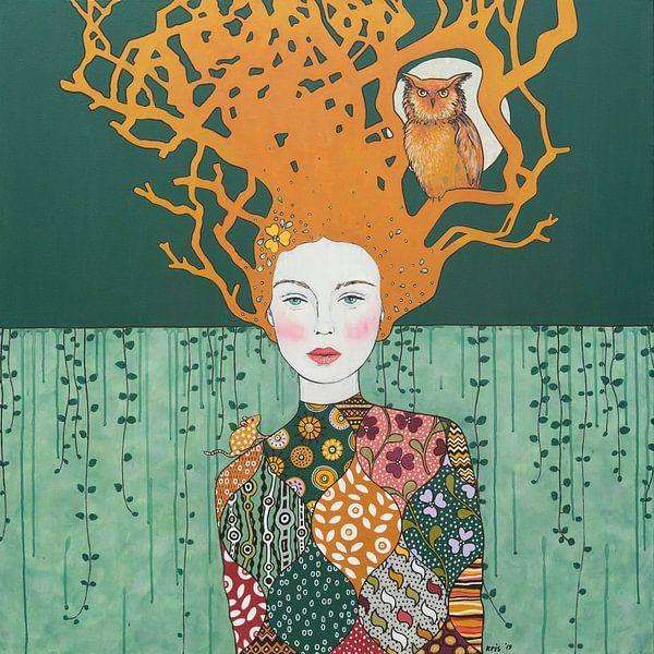 "2019-01 ""I paint my own reality"" -Frida Kahlo- von Kris Stuurop"