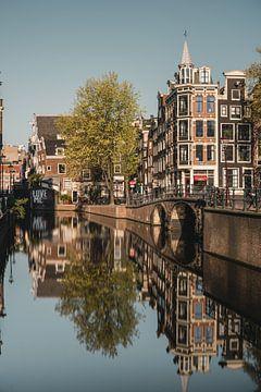 Canal in Amsterdam, Netherlands von