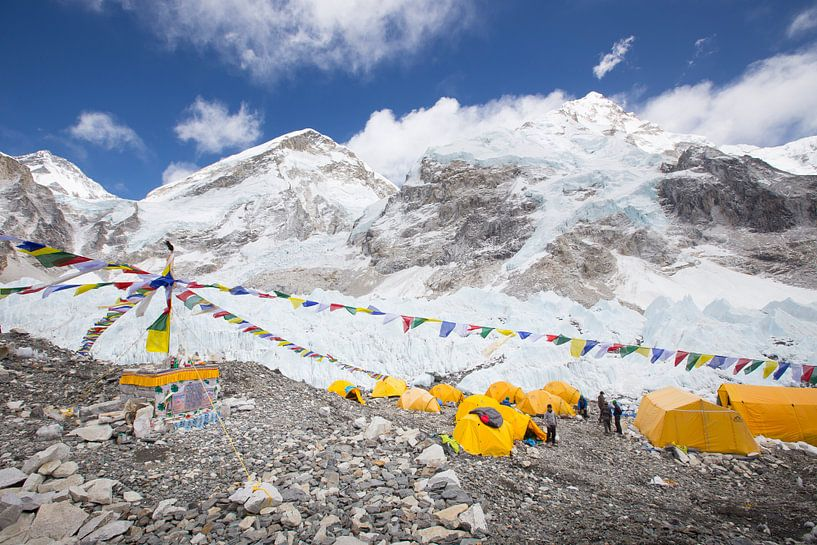 Mount Everest Basislager von Menno Boermans