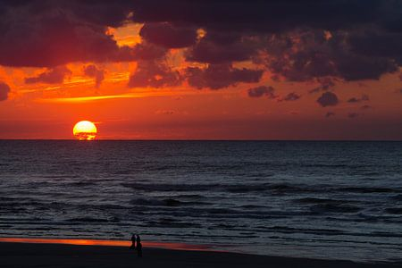 Sunset at Nes